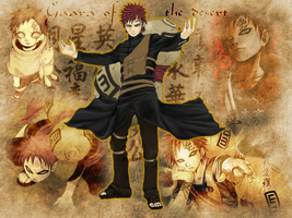 Gaara of The Desert by e-a-r-e-n-d-i-l
