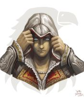 Ezio--Eye of the Eagle by Athena-Erocith