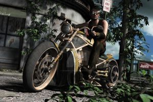 Rusted Bike Promo (update) by RissingFlower