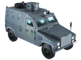 Otokar Shorland Armored Car by GARYOSAVAN