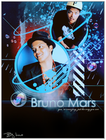 Bruno Mars by inmany