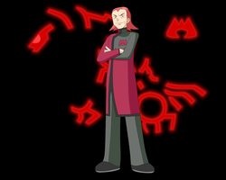 Team Magma Boss Maxie by Gilbertman
