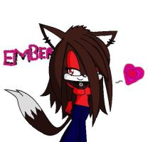 Ember the hedgefox 83 by emo2the3fox