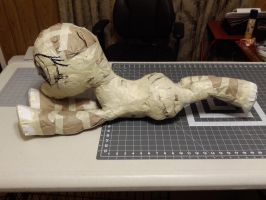 Paper Pattern test: Show accurate laying MLP pony by JaiYiKendra