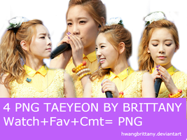 4 Png Taeyeon By Brittany by HwangBrittany