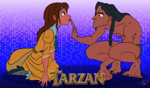 Tarzan and Jane by MartinsGraphics