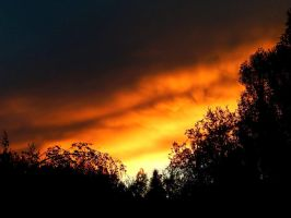 FIRE IN THE SKY 1 by sharkbaits