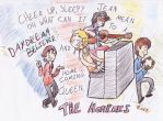 Art Trade: The Monkees by KabouterPollewop