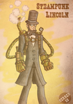 Steampunk Lincoln by herrenmedia