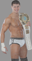 Cody Rhodes Text Based Image by TattyDesigns