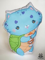 Pillow commission for pin-eye by MalinaToys