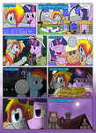 MLP FIM STARS Chapter-4 Stickers Page-48 by MultiTAZker