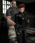 Mr. And Mrs. Krauser 2 by Leon5cottKennedy