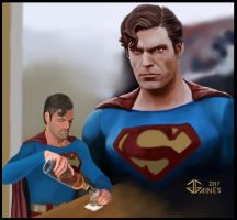 Superman III - Red K by gkgaines