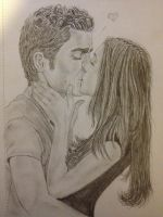 Elena and stefan by cammy21
