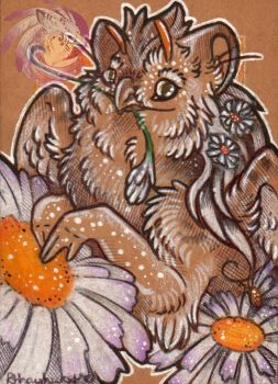 Daisy Chain ACEO by Idlewings