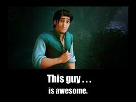The Awesome Flynn Rider by f4113n-4ng31-0f-r4in