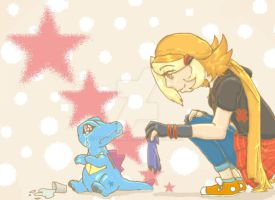 totodile tears by foxdeamon