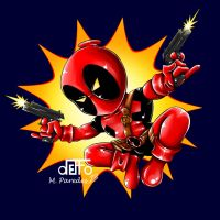 Chibi Deadpool by deffoneitor2000