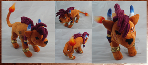 Red XIII Nanaki by darkpheonixchild