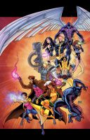 X-Men SDCC 2013 by thecreatorhd
