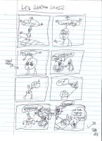 Comic Script Page 1 by uhnevermind