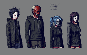 Doodle: Cultists by Elsiikun