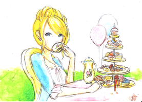 Princess Afternoon Tea Time by J-Sonone