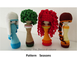 pattern Seasons by cottonflake