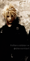 Cloud strife by FallenSoldier-X