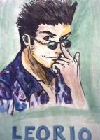 Leorio from hunter X hunter by Madette