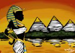Nile Sunset by DaBrandonSphere