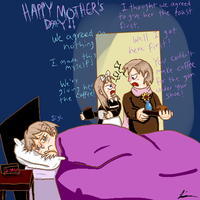 APH: Happy Mothers Day by Flutter-Butter