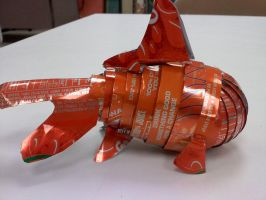 Soda Can Goldfish by ghost-skittles