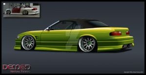 Nissan Silvia S13 finished by TMSVirtualTuning