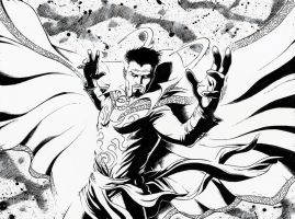 Doctor Strange by jasonbaroody
