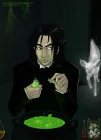 :Always: Severus and the Doe by Kinky-chichi