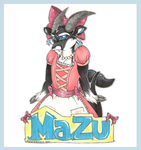 Frilly Mazu Badge by AliceAlexia