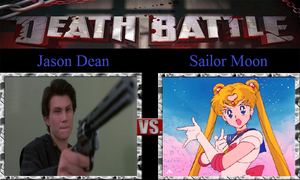 Jason Dean vs. Sailor Moon by JasonPictures