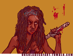 Michonne TWD commission by UrsulaDecay