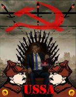 Communist King Obama by GeneralHelghast