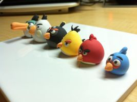 Angry Birds by SweetMochiGal