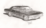 SPN Impala! by Earth-Girl-42
