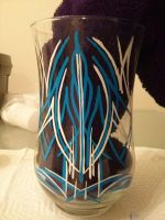 Pinstriped Vase 1 by Mehdals