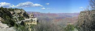 Grand Canyon Panoramic by RavingEagleMedia