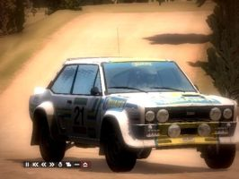 Fiat 131 Abarth Rally Car by pete7868