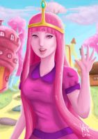 Princess Bubblegum by VA2O