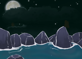 Practice Background - water by plumthedragon