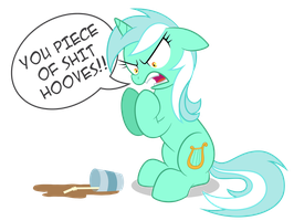 Lyra hates hooves by ShilaDaLioness