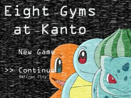 Eight Gyms at Kanto by Art-des-Tests